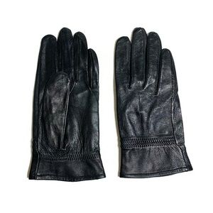 Buttery soft leather M-L gloves
